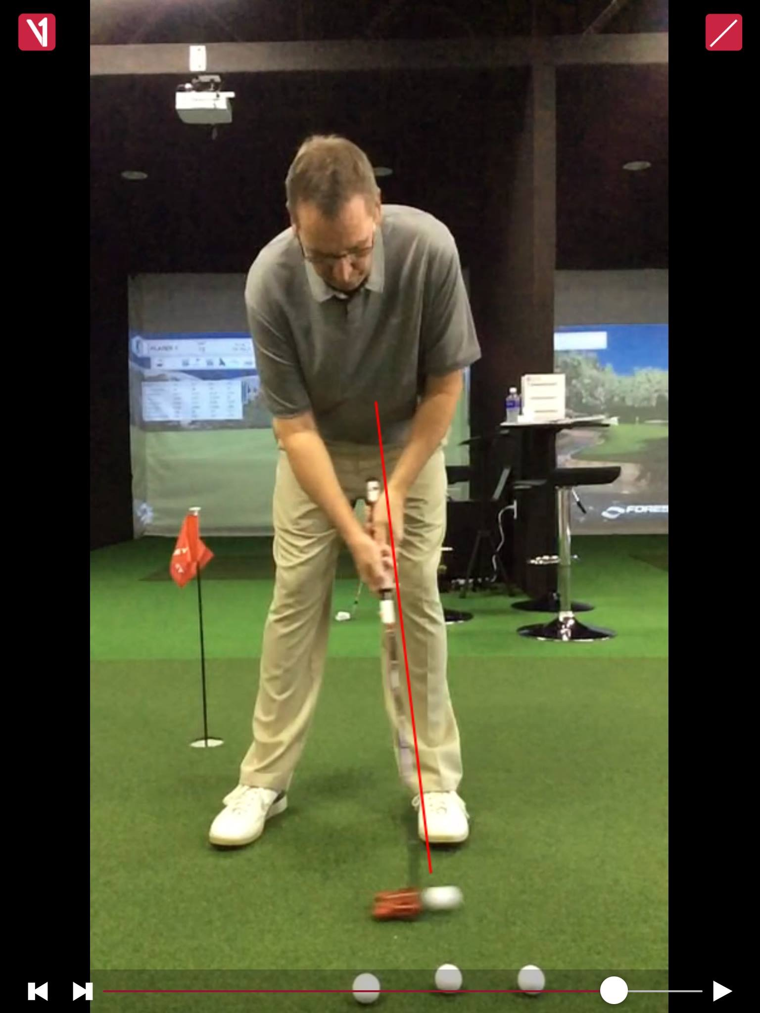 Improving Backward Shaft Learn at Impact