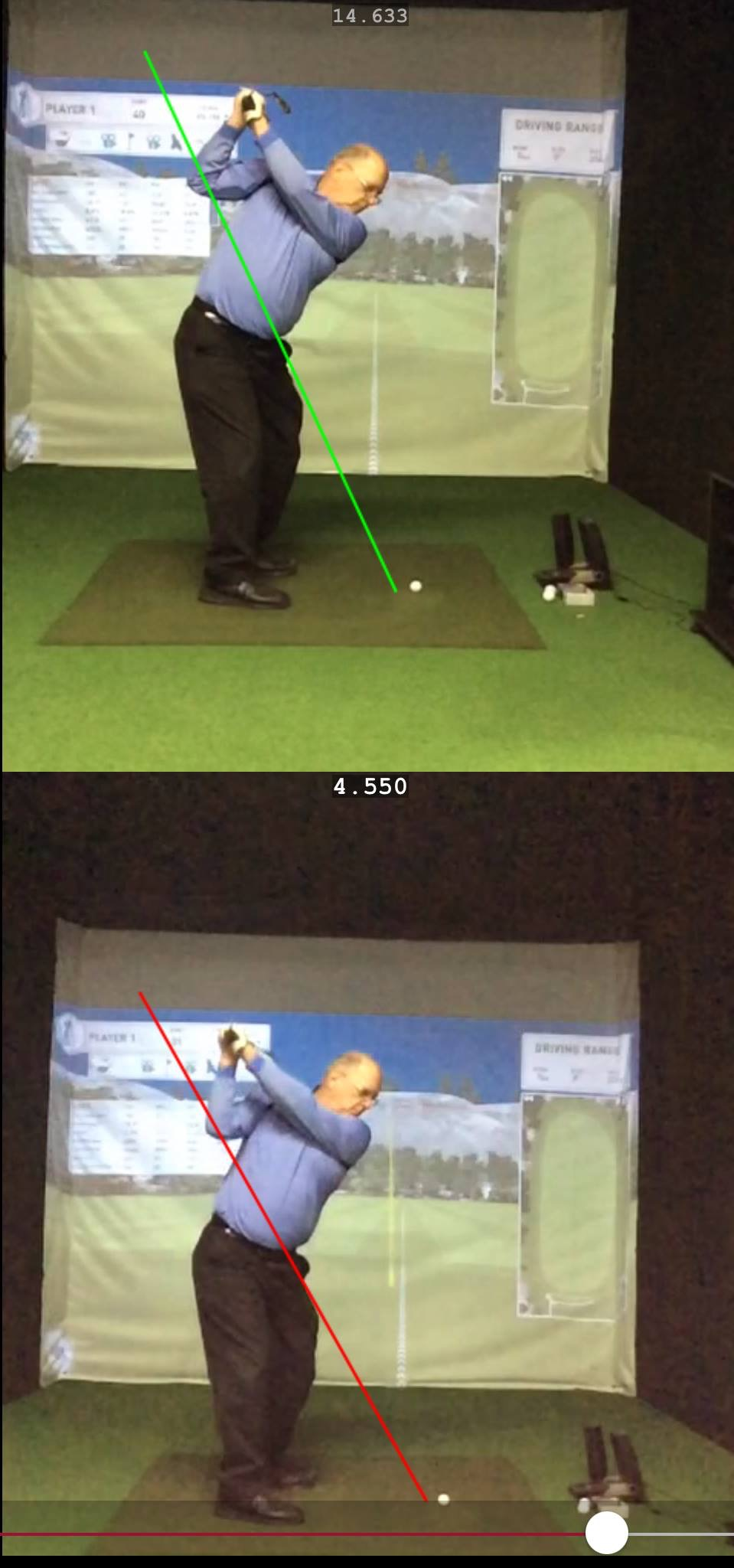 Improving swing plane
