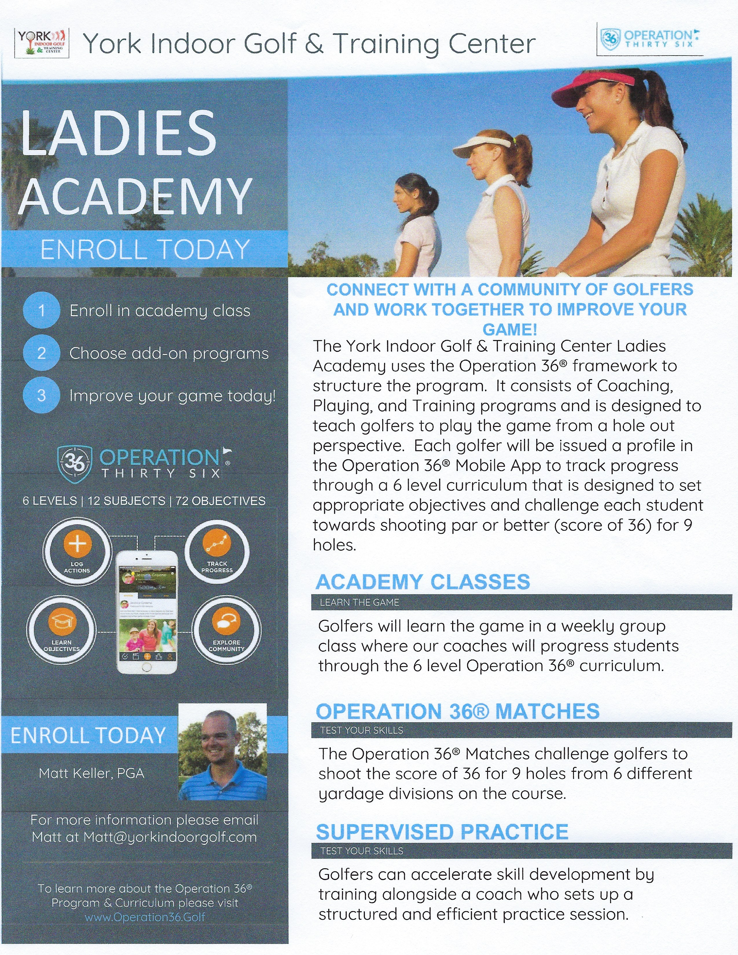 Ladies Academy Intro